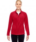 Team 365 Ladies' Campus Microfleece Jacket Sport Red