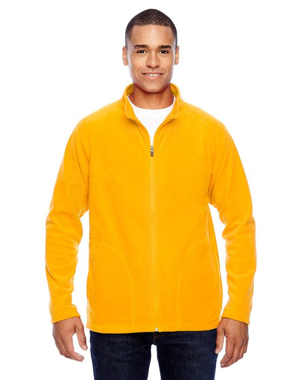 Team 365 Men's Campus Microfleece Jacket Sport ATH Gold