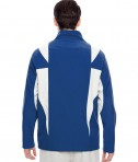 Team 365 Men's Icon Colorblock Soft Shell Jacket SP Royal/SP Silver Back