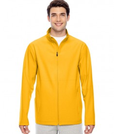 Team 365 Men's Leader Soft Shell Jacket Sport ATH Gold