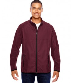 Team 365 Men's Pride Microfleece Jacket Sport Maroon