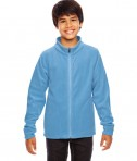 Team 365 Youth Campus Microfleece Jacket Sport Light Blue